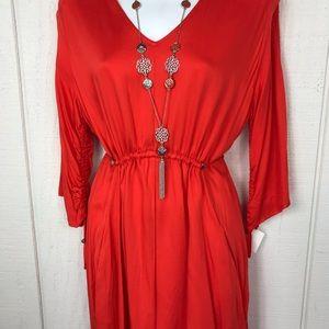 Dresses - Coral Reserved mini dress size M